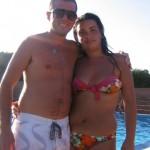 arianna e raffaele piscina